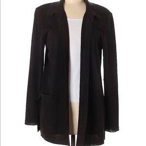 Misook Brown Cardigan Size M